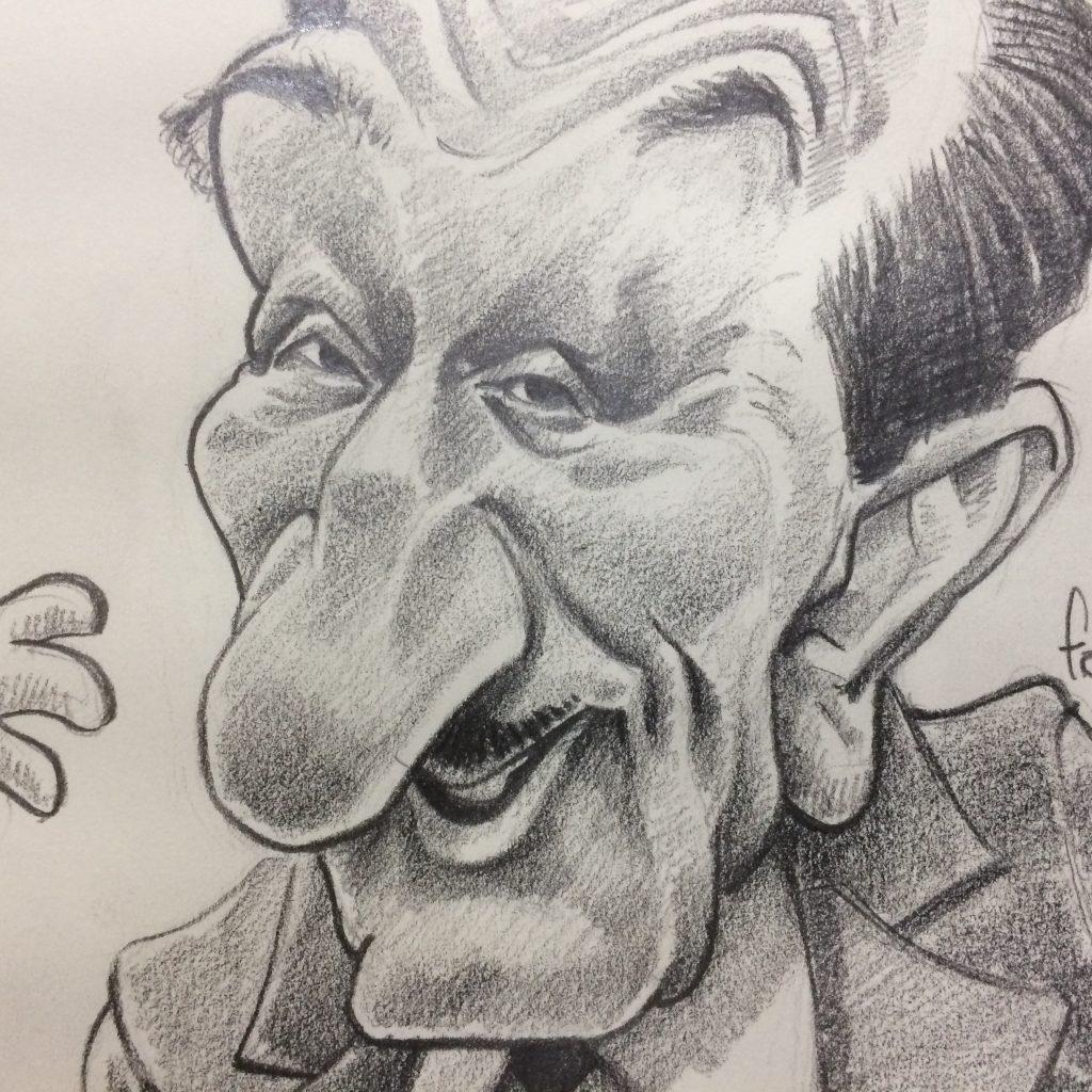 O impossível na caricatura
